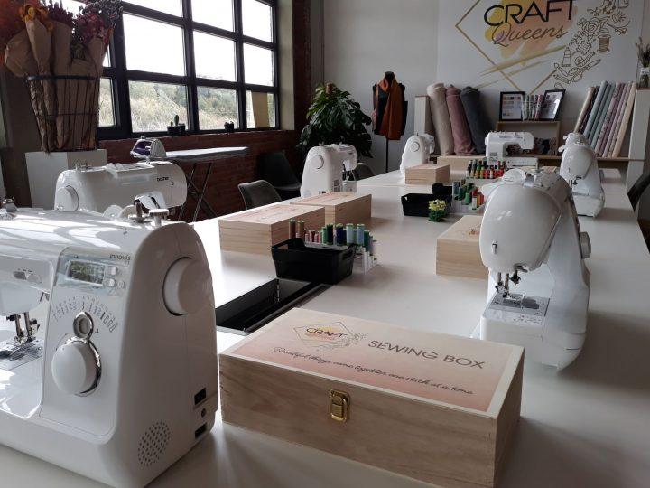 Craft Queens naaien Aalst
